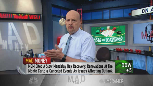 Cramer: Buy MGM Resorts despite the casino stock's 'hideous pullback'
