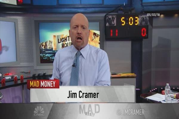 Cramer's lightning round: Don't buy Monster Beverage—it's running out of steam