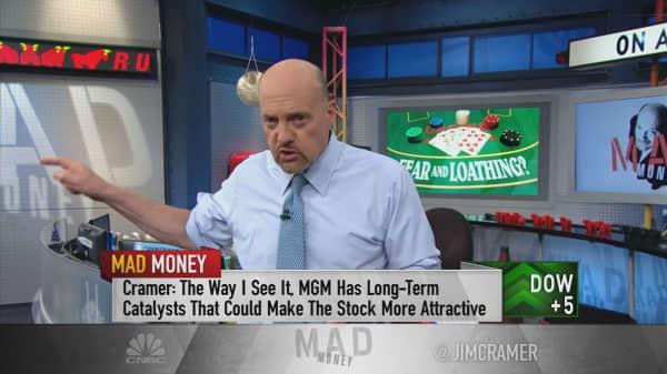 Buy MGM despite casino stock's pullback