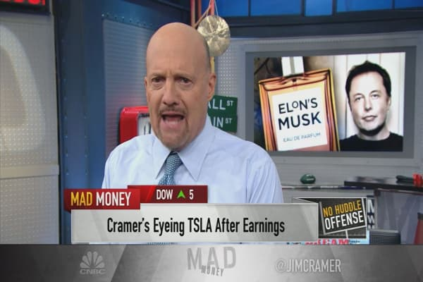 Thanks to Tesla CEO Elon Musk 'for telling the truth' on conference call: Cramer