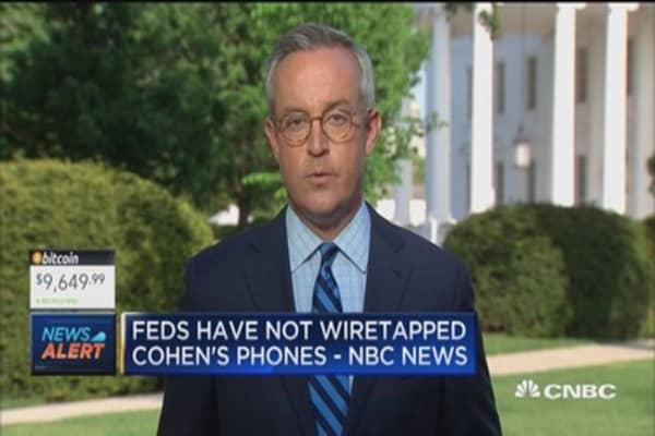 Feds saw log of Cohen's phone calls says NBC News