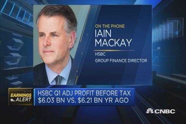First quarter earnings represent a 'good start' for 2018: HSBC