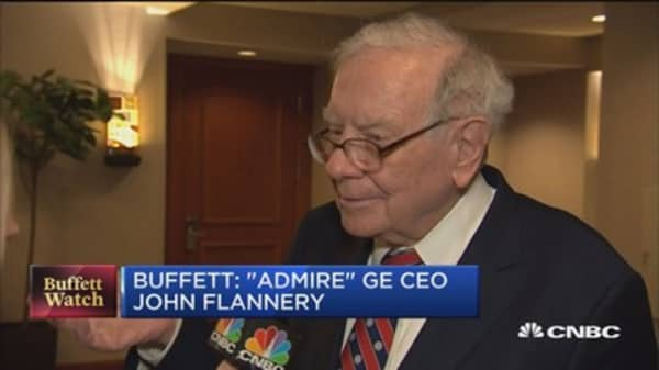 Buffett: We have 'zero' IBM shares right now