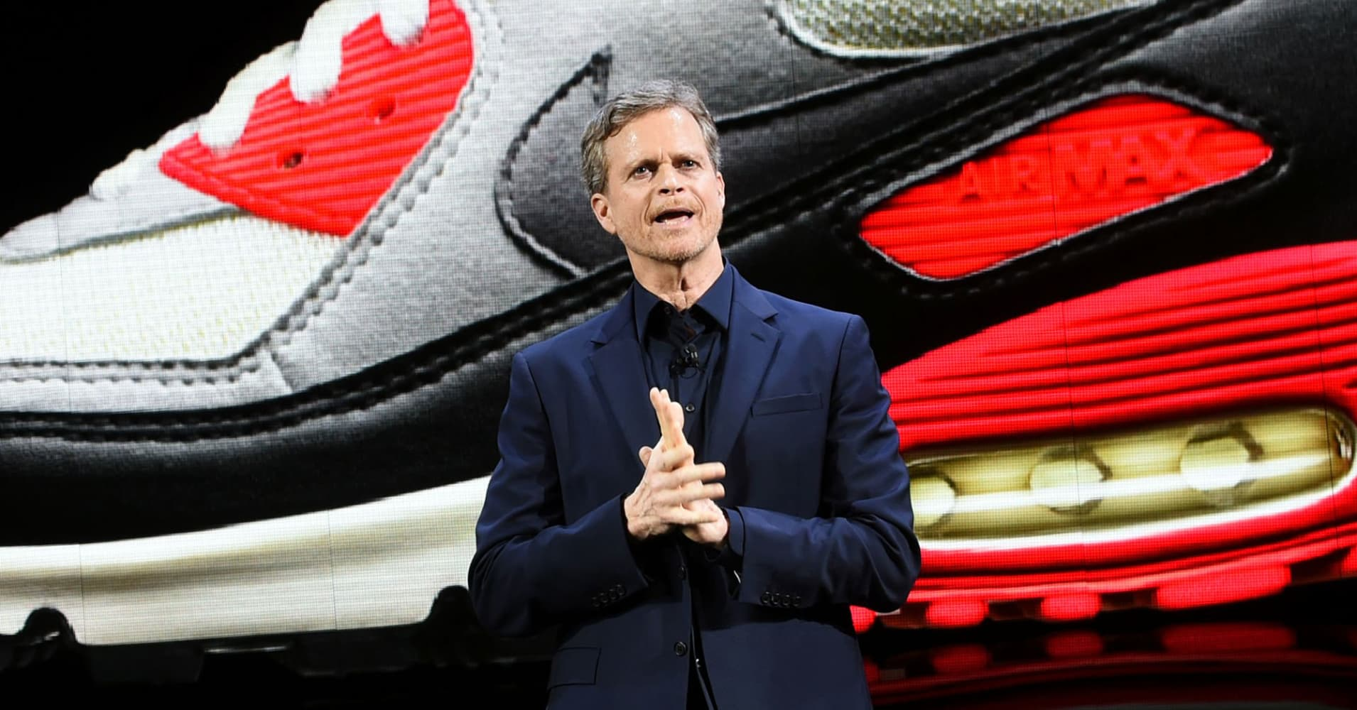 Nike shares fall after North American sales growth disappoints - CNBC image