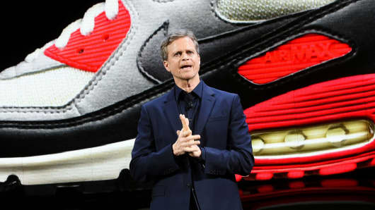 Nike president and CEO Mark Parker