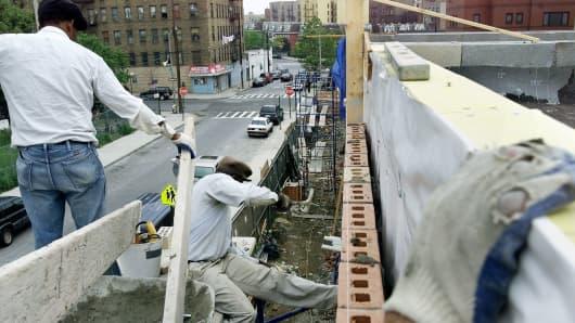 Real estate development in the Bronx.