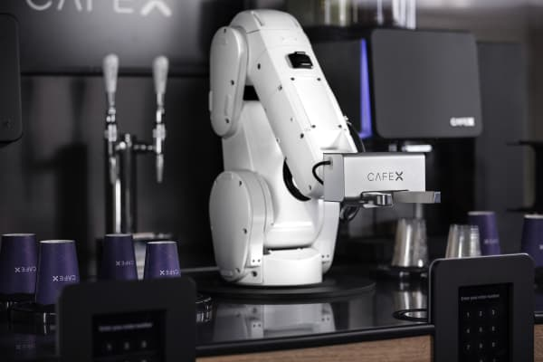 Cafe X, an automated barista, could be the future of coffee shops