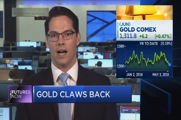 Gold could reach a 5-year high by the end of 2018, says BofA technician