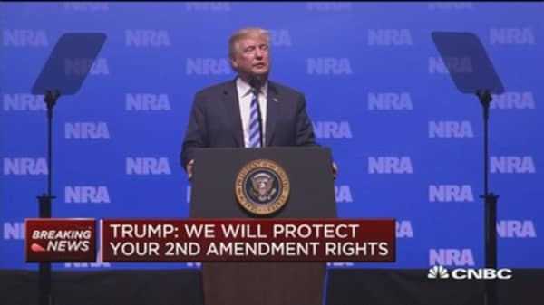 Trump to NRA: We are finally putting America first