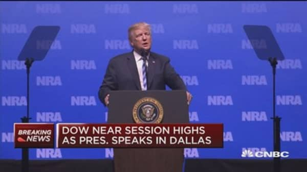 Trump to NRA: If one employee or patron had a gun in Paris, it would have been a different story