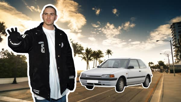 Pitbull spent his first $1,500 paycheck on a car for his mom