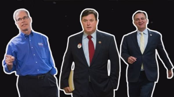 Watch these GOP candidates echo Trump to win over voters