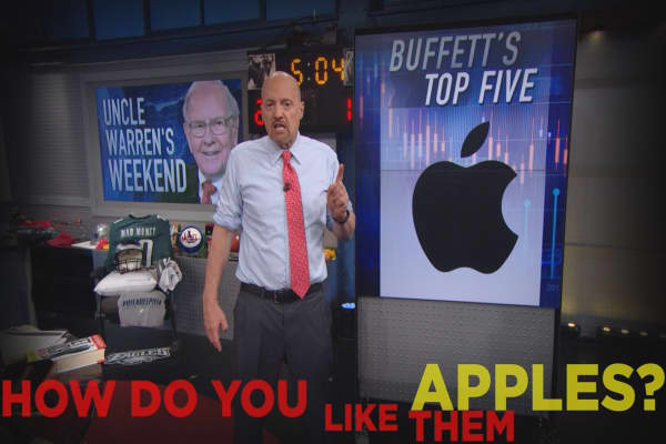 Cramer Remix: Why Apple is a better version of Procter & Gamble