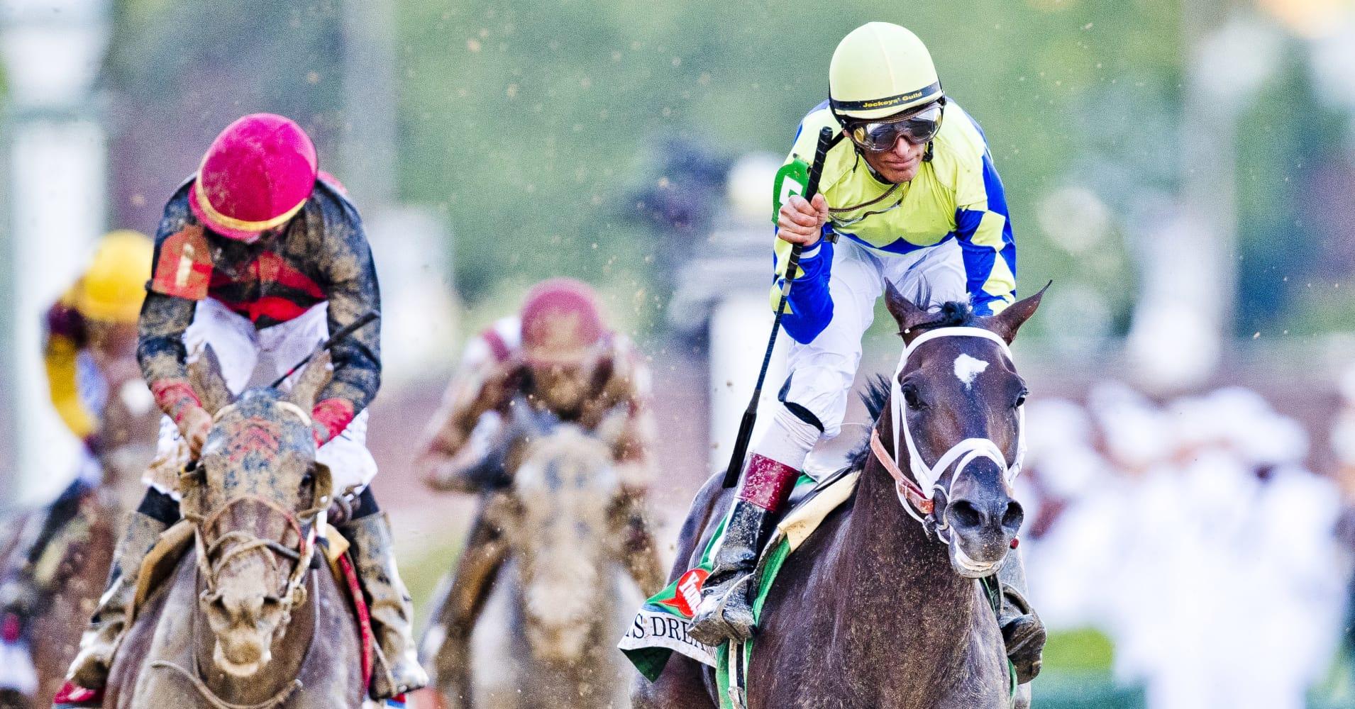 Always Dreaming, ridden by John Velazquez, won the 2017 Kentucky Derby