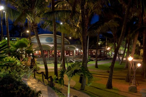 Mamas Fish House at Night, Kuau, Maui, Hawaii