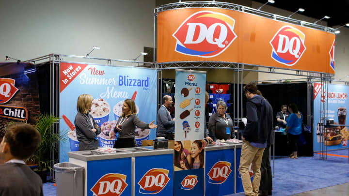 The Dairy Queen booth at the 2018 Berkshire Hathaway Annual Shareholder's Meeting in Omaha, NE.