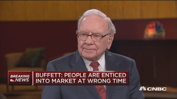 Buffett: S&P 500 a better choice than Treasurys