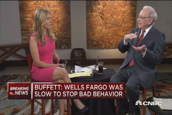 Buffett: Wells Fargo had incentives for bad behavior