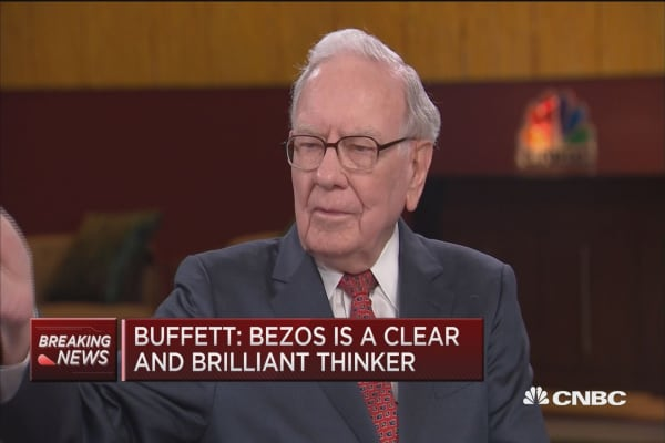 Buffett: 'I blew it' on Amazon