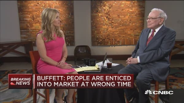 Buffett: Employment is tight right now