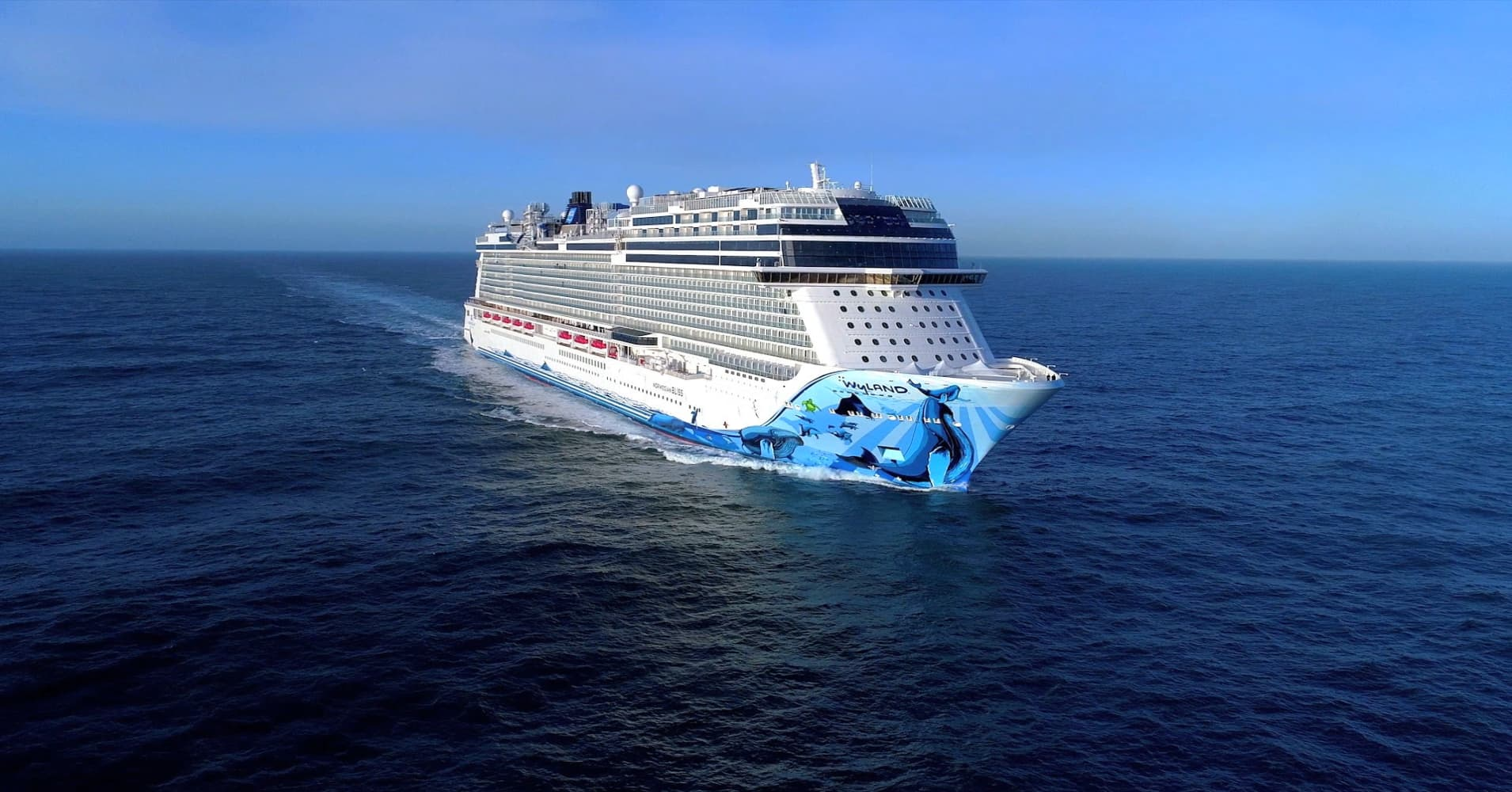 norwegian s 1 billion cruise ship has a race track on board