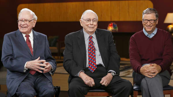 Warren Buffett, Charlie Munger and Bill Gates