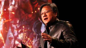 Jen-Hsun Huang, chief executive officer of Nvidia Corp.