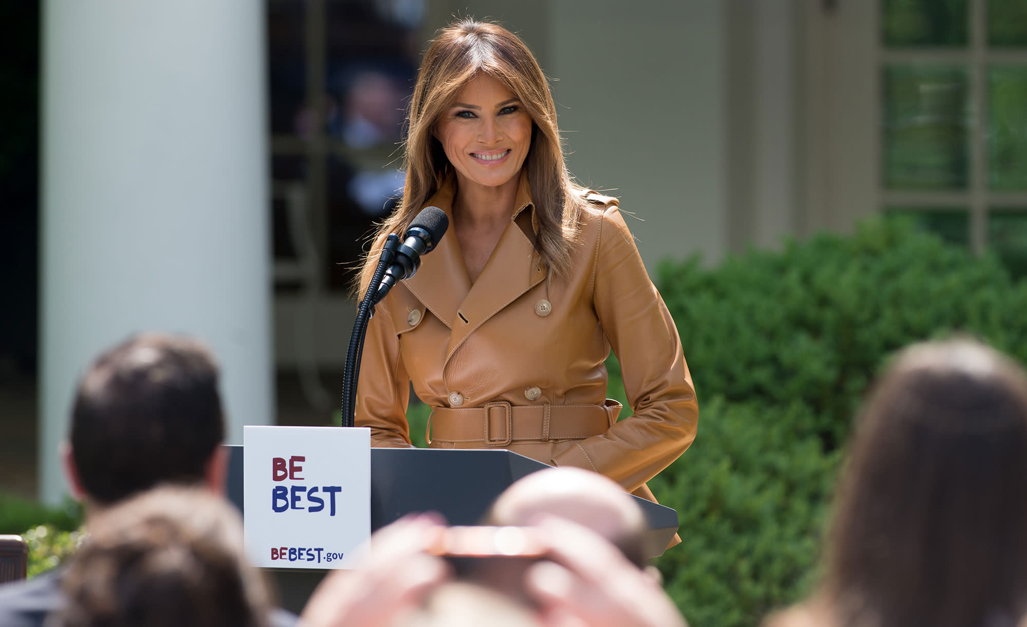 Melania Trump launches \'Be Best\' initiative to promote children\'s ...