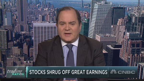 Wall Street bull explains why earnings are soaring, but markets are not