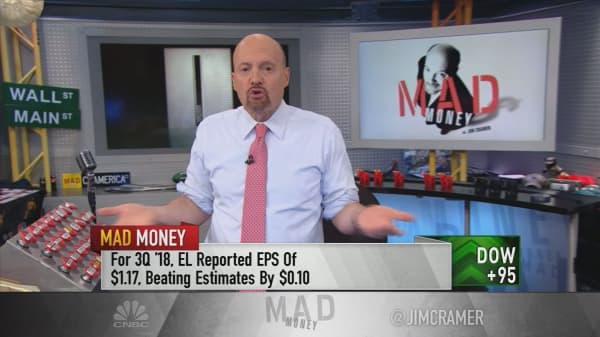 Cramer advises buying Estee Lauder into weakness