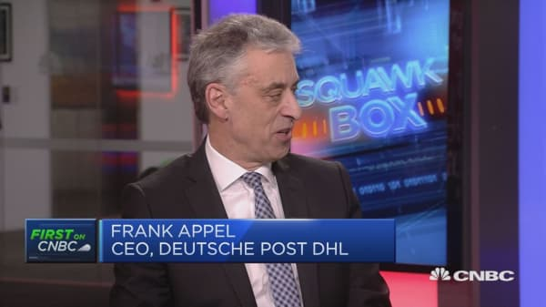 Deutsche Post CEO: Digitization can help boost productivity