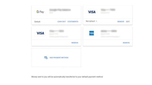 Set up a Google Pay account