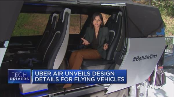Uber Air unveils design details for flying cars