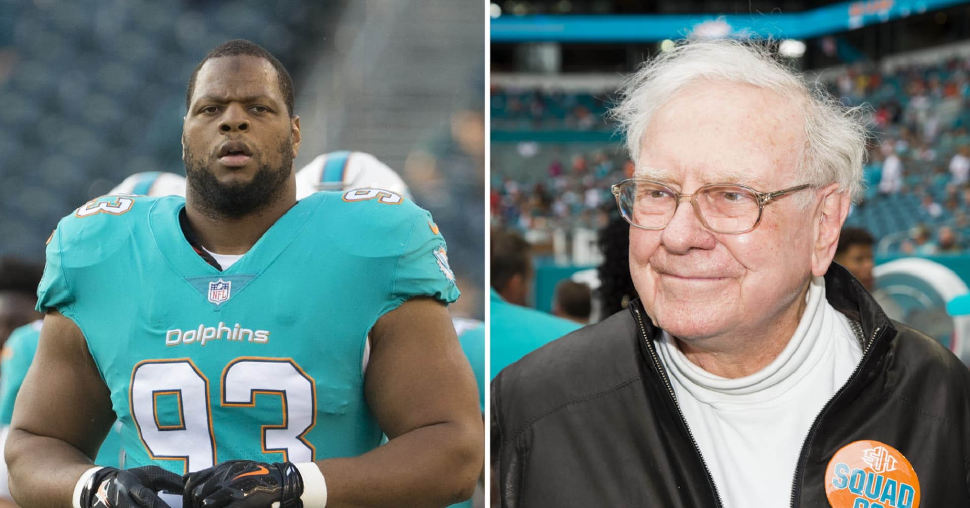 NFL star Ndamukong Suh shares the best lesson he's learned from his mentor Warren Buffett