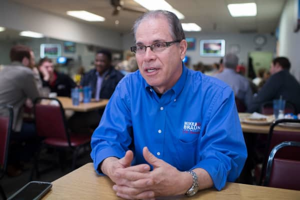 Mike Braun, who is running for the Senate in Indiana.