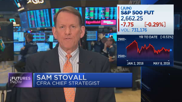 'Peak earnings' won't push stocks into bear market, CFRA's Sam Stovall says