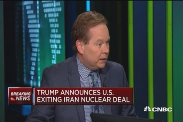 Things could get nasty because of Iran deal: John Kilduff