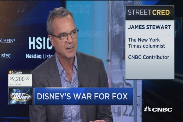 What a Comcast challenge to Disney-Fox deal could mean for Mouse House