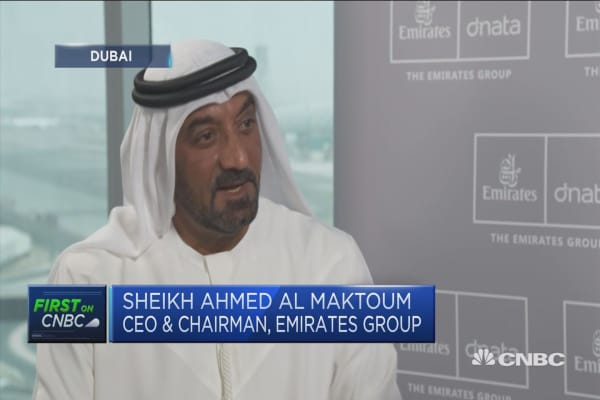 Emirates CEO: Cannot control oil prices, we'll always manage