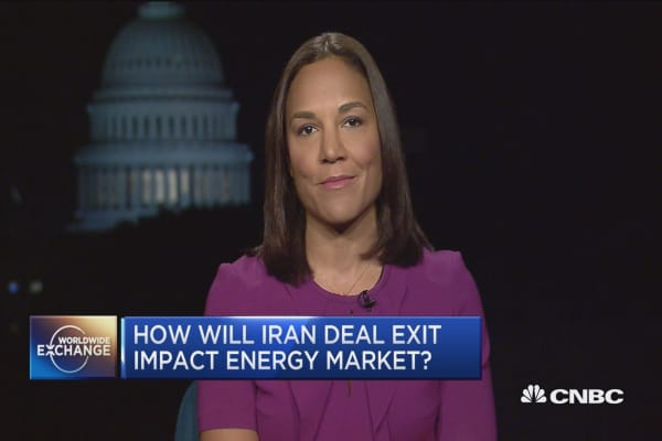 How will Iran deal exit impact oil prices?
