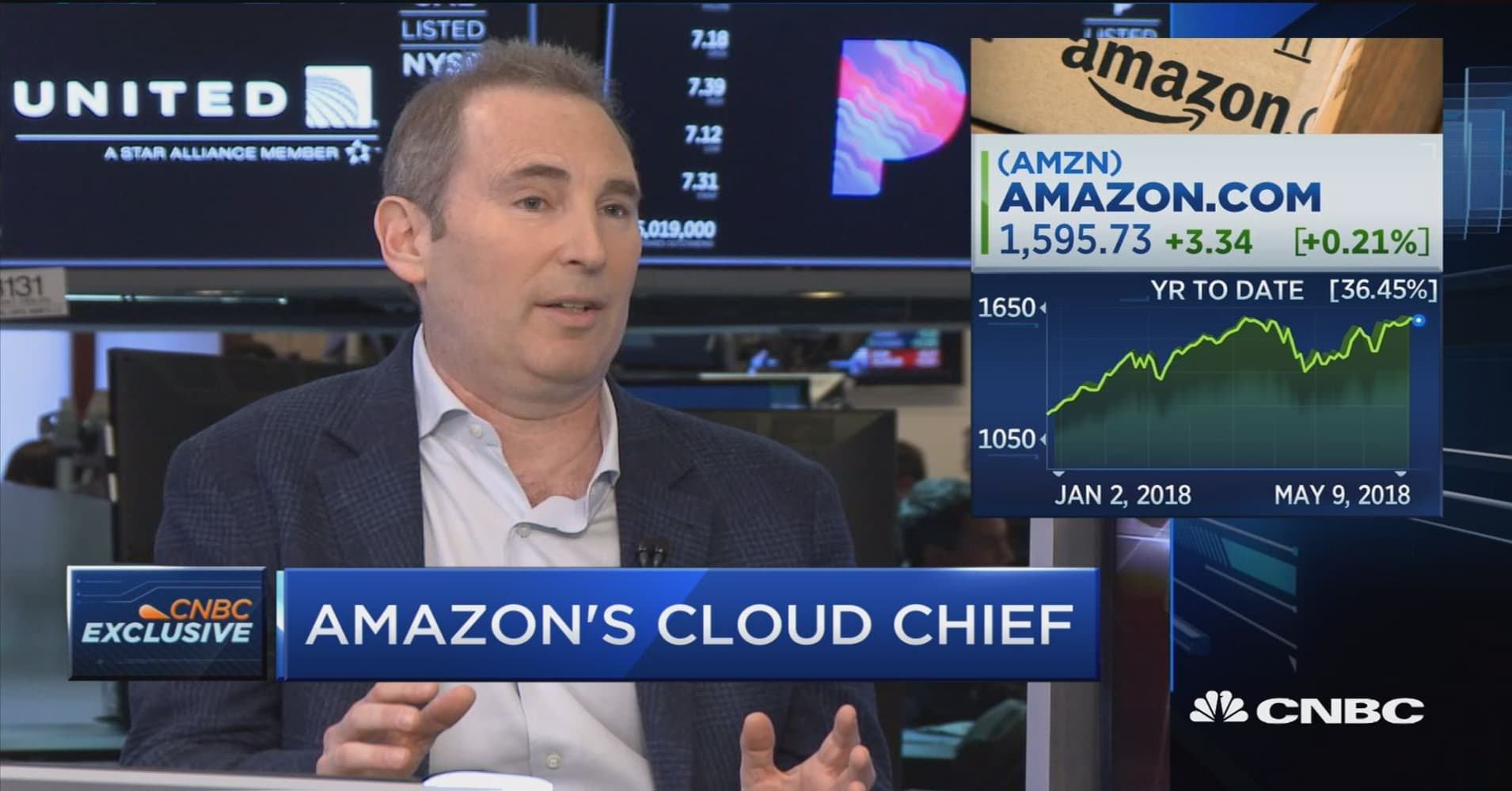 AWS CEO: We're customer-focused, not competitor-focused