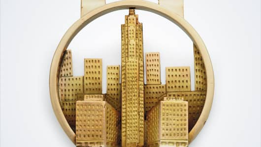Rockefeller money clip