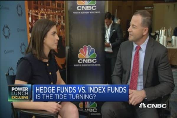 Ted Seides on hedge funds vs. index funds and his bet with Warren Buffett