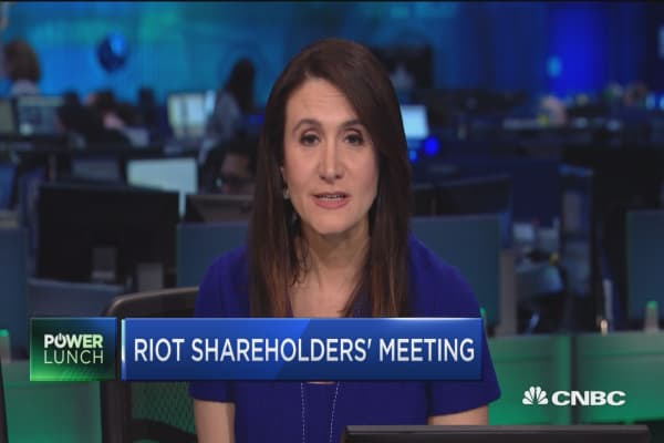 Riot Blockchain CEO: Cannot comment on SEC supoena