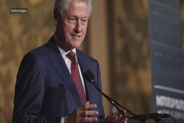 Bill Clinton calls new tax law 'a bullet aimed at New York and California'
