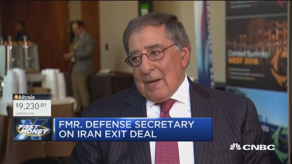 Former Def. Sec. Panetta talks Trump, North Korea and the Iran deal
