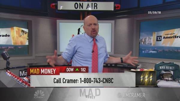 Cramer's lightning round: The market's wrong on Constellation Brands