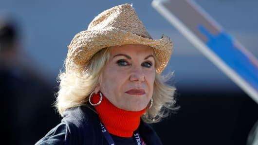 Elaine Wynn, ex-wife of casino mogul Steve Wynn.