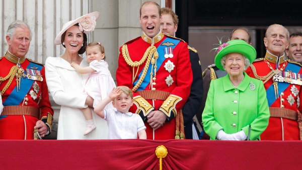 How rich is the royal family?