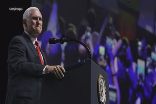 Vice President Mike Pence tells special counsel Robert Mueller 'to wrap it up'